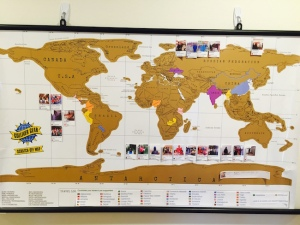 Kiva Scratch Off Map